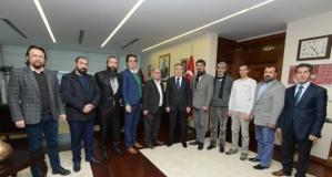 YENİMEDYADER DENİZLİ PROTOKOLÜ İLE BİR ARAYA GELDİ