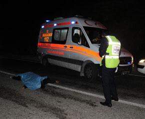 Marmaris'te trafik kazası 1 ölü 2 yaralı