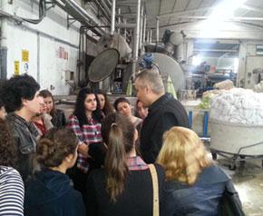 DETGİS Tekstil Mühendisliği öğrencileriyle buluştu