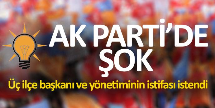 AK Parti'de şok