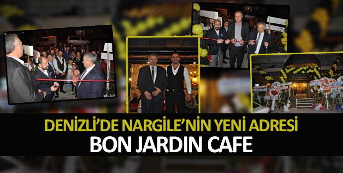 Denizli'de Nargile'nin yeni adresi Bon Jardın Cafe