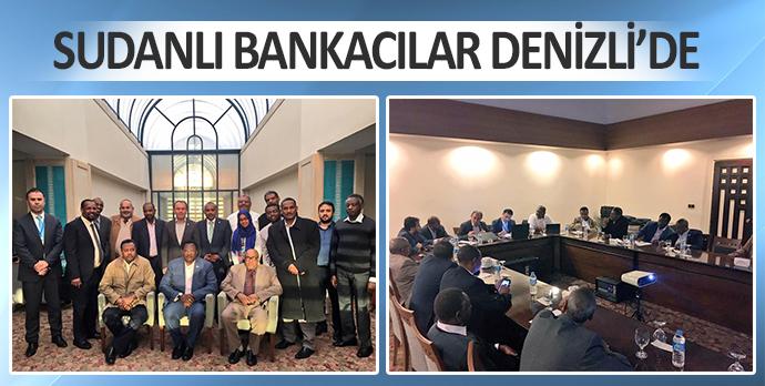 Sudanlı Bankacılar Denizli'de