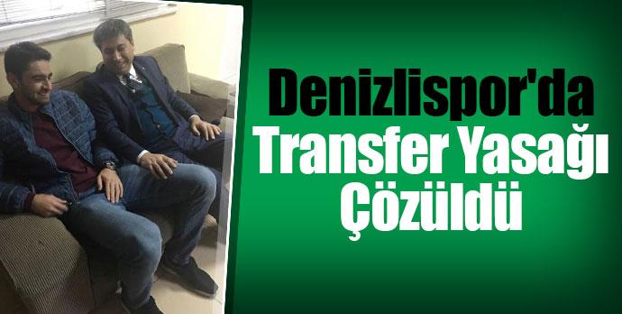Denizlispor'da Transfer Yasağı Çözüldü