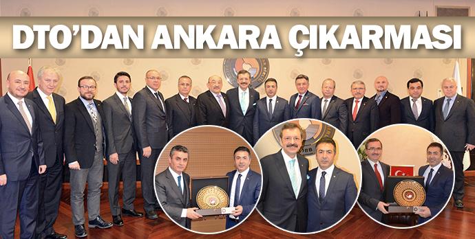 DTO'dan Ankara çıkarması