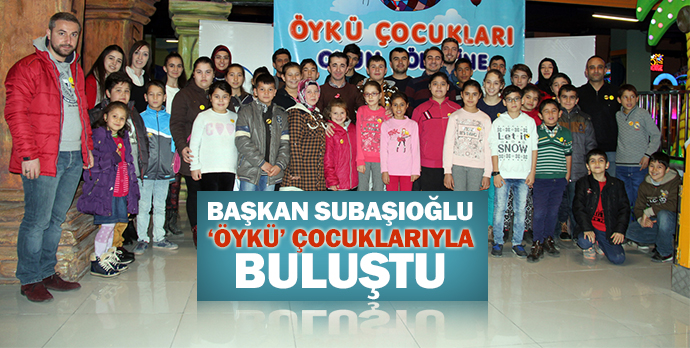 Başkan Subaşıoğlu 'Öykü' çocuklarıyla buluştu