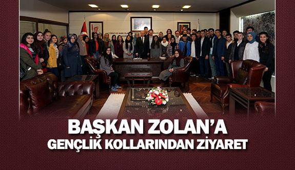 Başkan Zolan'a Gençlik Kollarından ziyaret