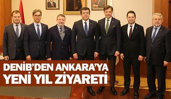 DENİB'den Ankara'ya yeni yıl ziyareti