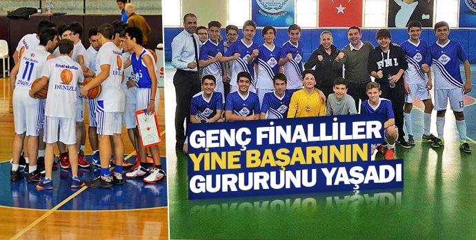 Genç Finalliler yine başarının gururunu yaşadı