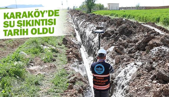 Karaköy'de su sıkıntısı tarih oldu