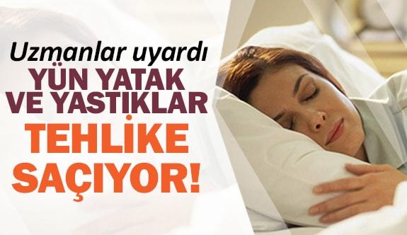 Uzmanlar uyardı: Yün yatak ve yastıklar tehlike saçıyor