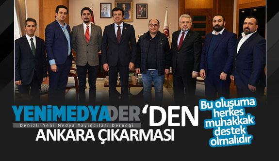 YENİMEDYADER'den Ankara Çıkarması