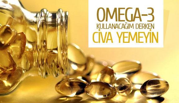 Omega-3 kullanacağım derken civa yemeyin