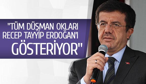 """""""Tüm düşman okları Recep Tayyip Erdoğan'ı gösteriyor"""""""