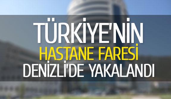 Türkiye'nin hastane faresi Denizli'de yakalandı