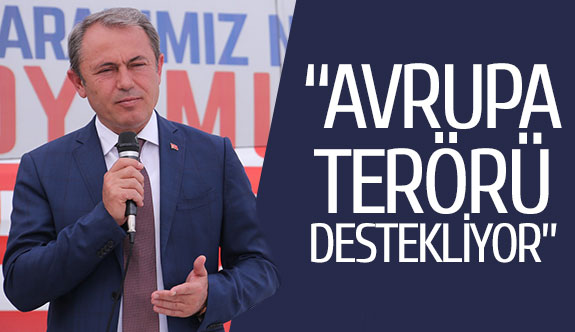 """""""Avrupa terörü destekliyor"""""""