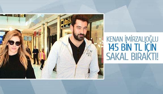 Kenan İmirzalıoğlu 145 bin tl için sakal bıraktı!