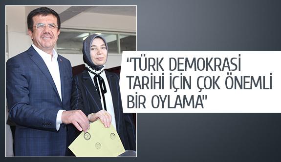 """""""Türk demokrasi tarihi için çok önemli bir oylama"""""""