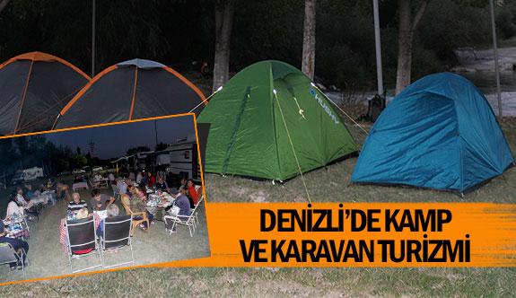 Denizli'de kamp ve karavan turizmi