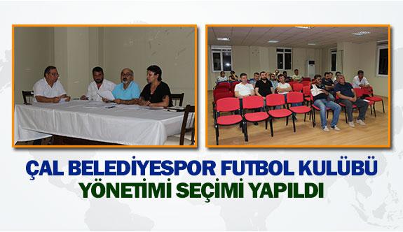 Çal Belediyespor Futbol Kulübü yönetimi seçimi yapıldı