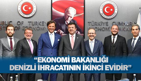 """""""Ekonomi Bakanlığı Denizli ihracatının ikinci evidir"""""""