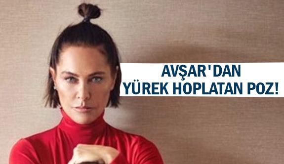 Avşar'dan yürek hoplatan poz!