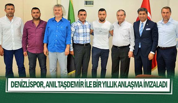 Denizlispor, Anıl Taşdemir ile bir yıllık anlaşma imzaladı