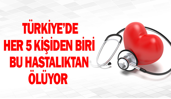 Türkiye'de her beş kişiden biri bu hastalıktan ölüyor