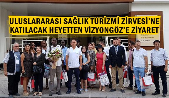 Uluslararası Sağlık Turizmi Zirvesi'ne katılacak heyetten Vizyongöz'e ziyaret