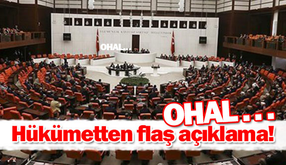 Hükümetten flaş açıklama!