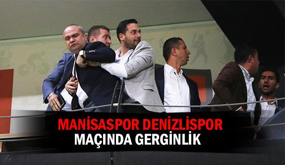 Manisaspor Denizlispor maçında gerginlik