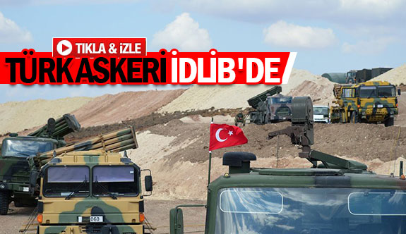 Türk askeri idlib'de