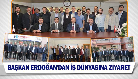 Başkan Erdoğan'dan iş dünyasına ziyaret
