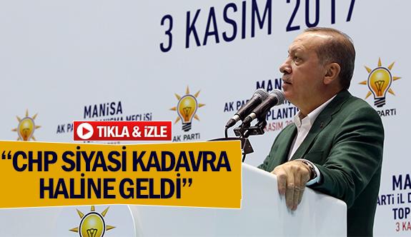 """CHP siyasi kadavra haline geldi"""