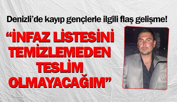 Denizli'de 8 kişilik infaz listesi oluşturan şahısla ilgili şok iddia!