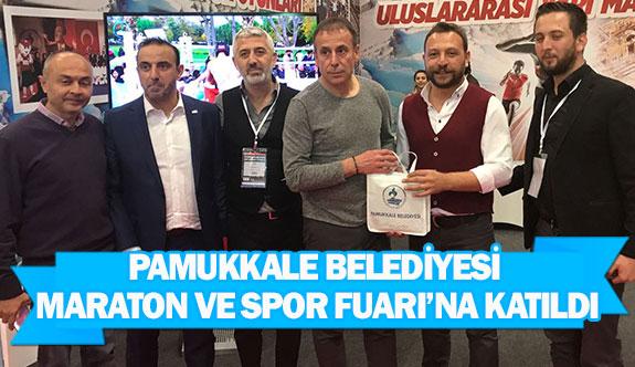 Pamukkale Belediyesi Maraton ve Spor Fuarı'na katıldı