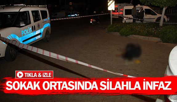Sokak ortasında silahla infaz
