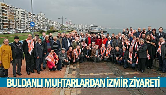 Buldanlı muhtarlardan İzmir ziyareti