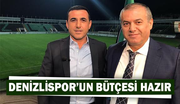Denizlispor'un bütçesi hazır