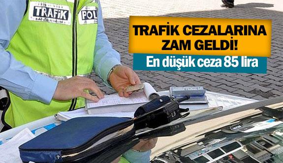 Trafik cezalarına zam geldi!