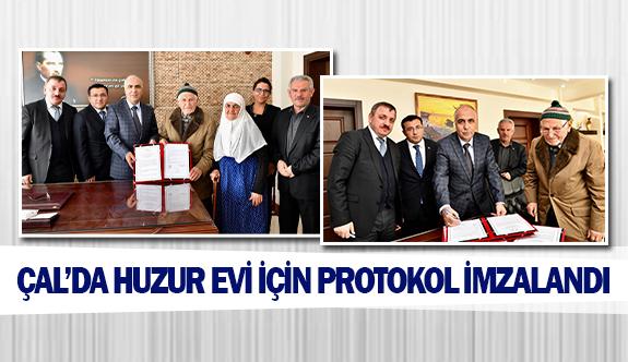 Çal'da huzurevi için protokol imzalandı