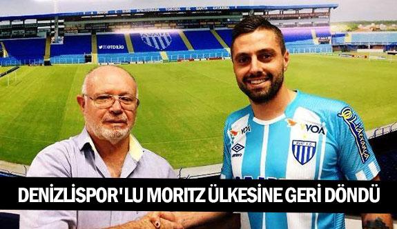 Denizlispor'lu Morıtz ülkesine geri döndü