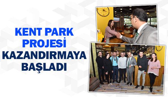 Kent Park Projesi kazandırmaya başladı