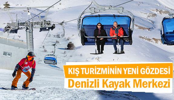 Kış turizminin yeni gözdesi Denizli Kayak Merkezi