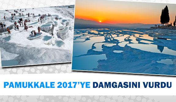 Pamukkale 2017'ye damgasını vurdu