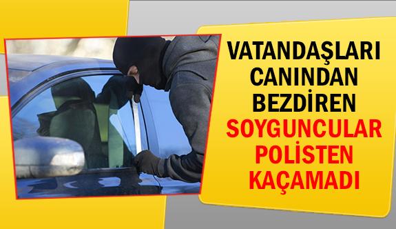 Vatandaşları canından bezdiren soyguncular polisten kaçamadı