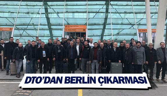 DTO'dan Berlin çıkarması