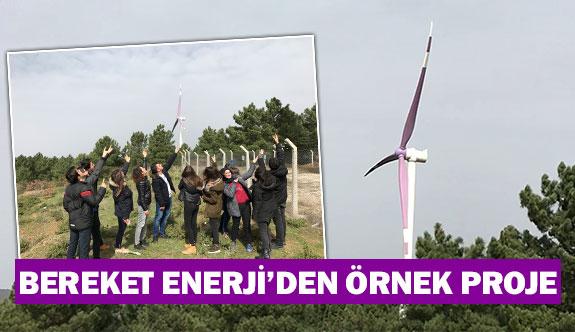 Bereket Enerji'den örnek proje