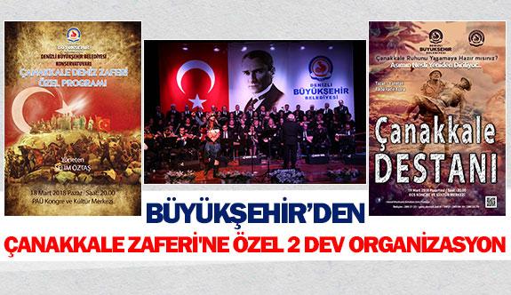 Büyükşehir'den Çanakkale Zaferi'ne özel 2 dev organizasyon