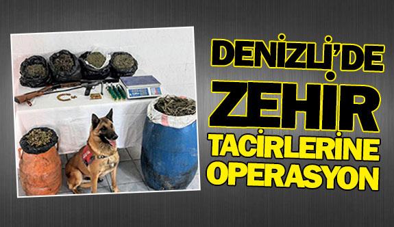 Denizli'de zehir tacirlerine operasyon