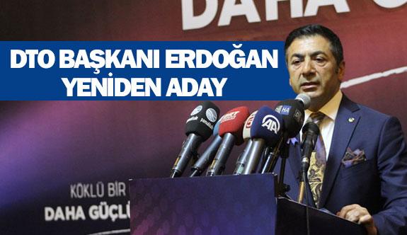 DTO Başkanı Erdoğan yeniden aday